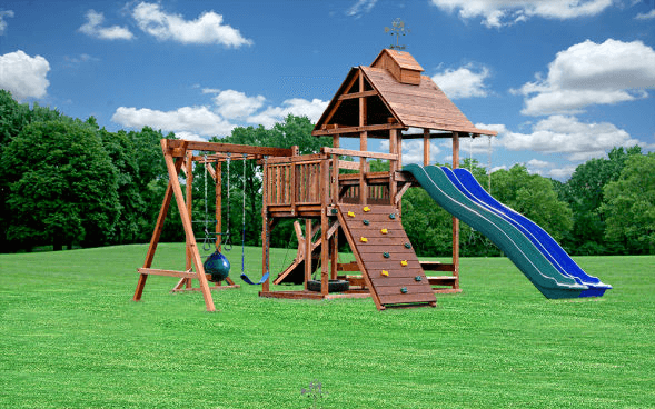Kid's Creations Design Your Own Swing Set Configurator made with LiquidPixels