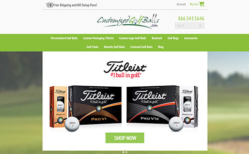 Visit CustomizedGolfBalls.com