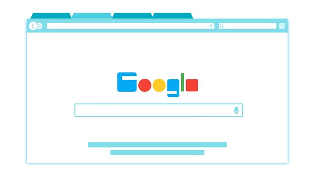 Google browser graphic