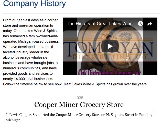 glwas company history