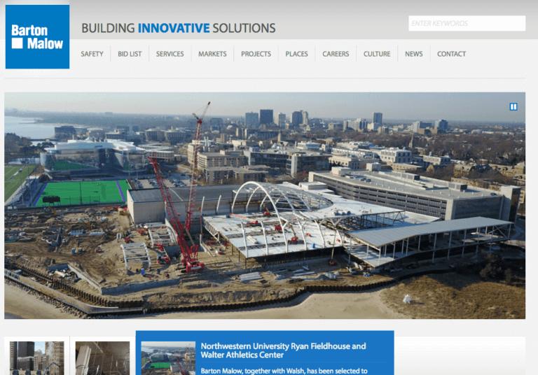 barton malow homepage