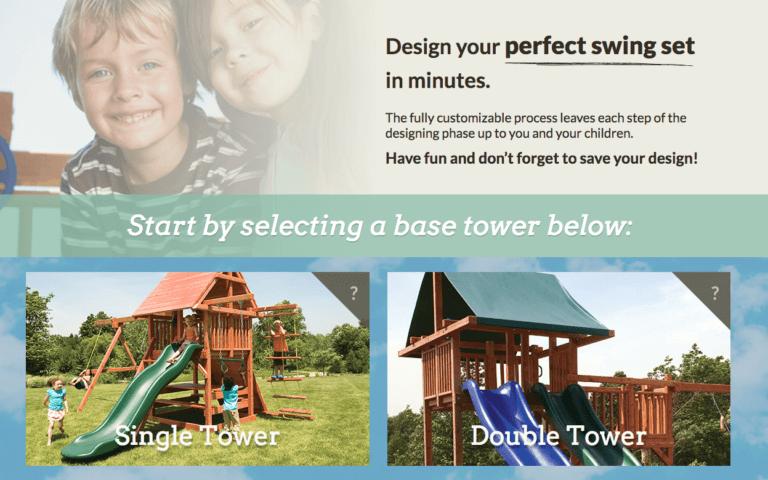 Design Your Own Swingset Start - Kids Creations | TMProd