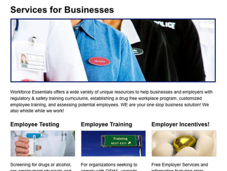 Case Study - WFE - Business Services
