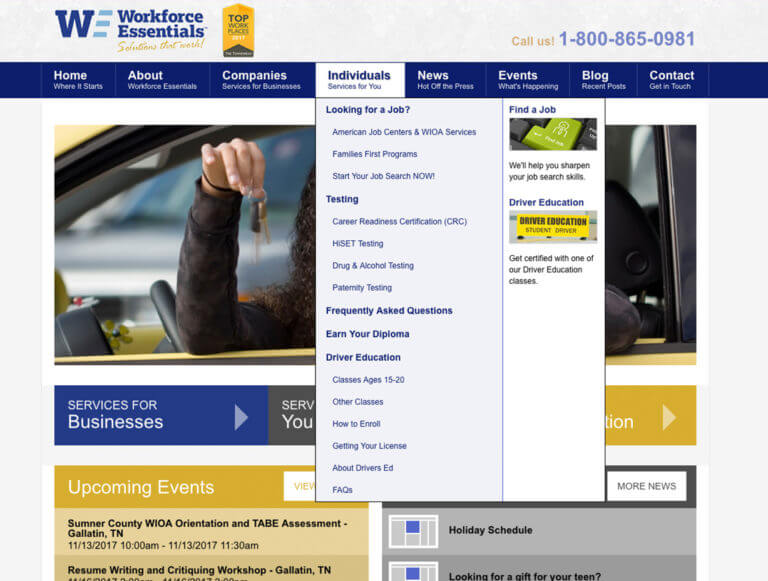 Case Study - WFE - Easy-to-Navigate