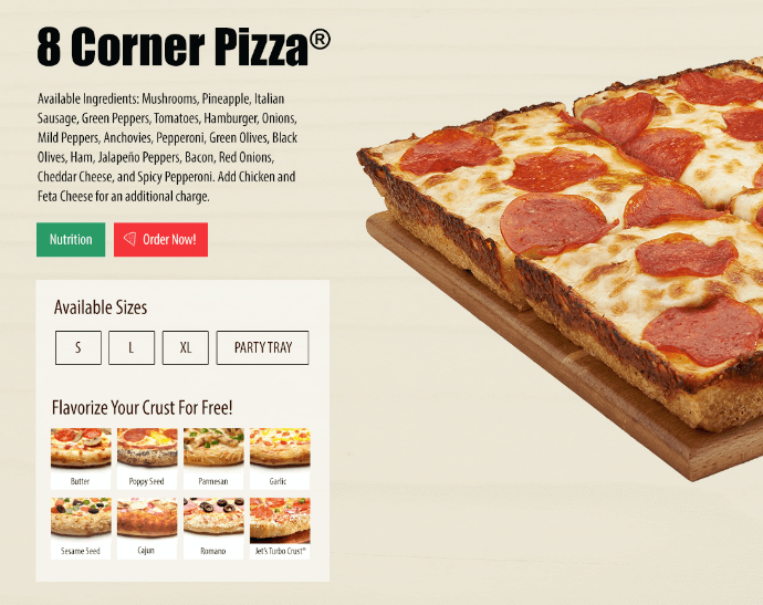 jets pizza stl ordering options