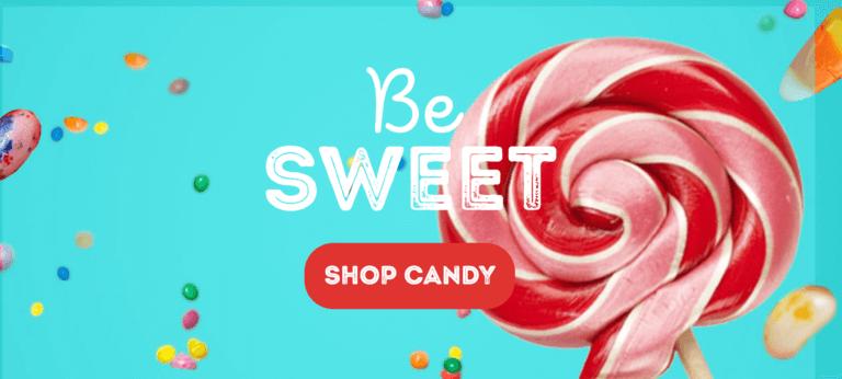 visual example of the bulk store's website design