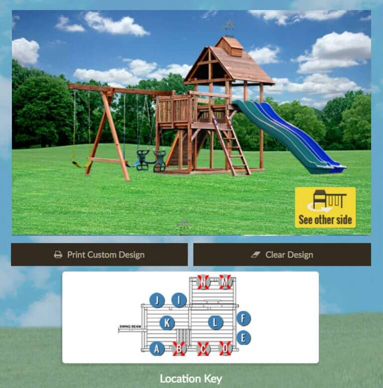 Design Your Own Swingset Preview - Kids Creations | TMProd