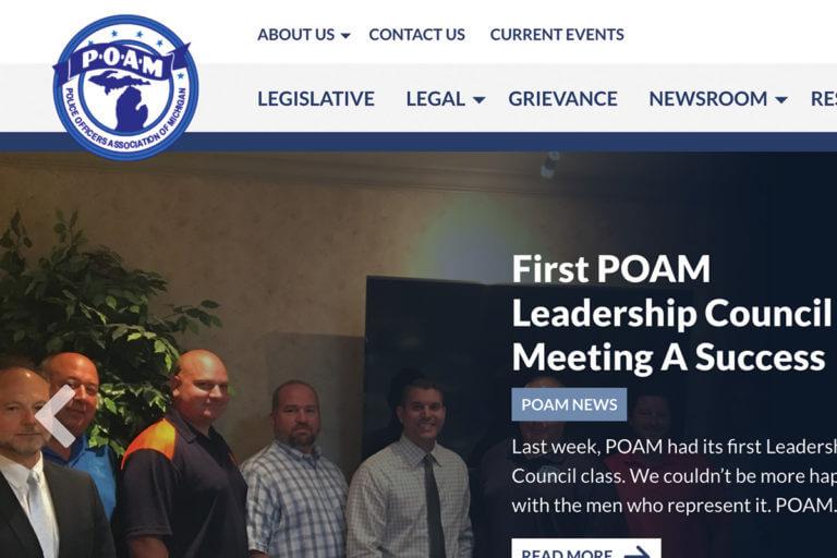 POAM - Homepage News