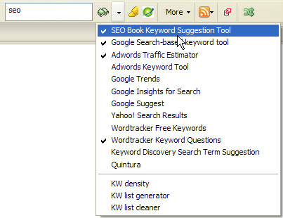 SEO Toolbar Research