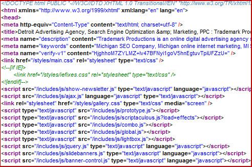 Title Tag, Meta Description and Meta Keywords